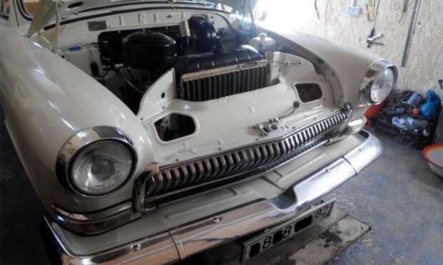 Отреставрированная классика - ГАЗ 21 (16 фото)