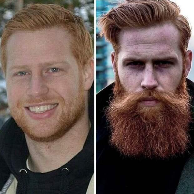 Несмотря на свой успех, Гвилим остался скромником Круто получилось, борода, внезапно, до и после, изменения внешности, истории из жизни, истории людей, мужская красота