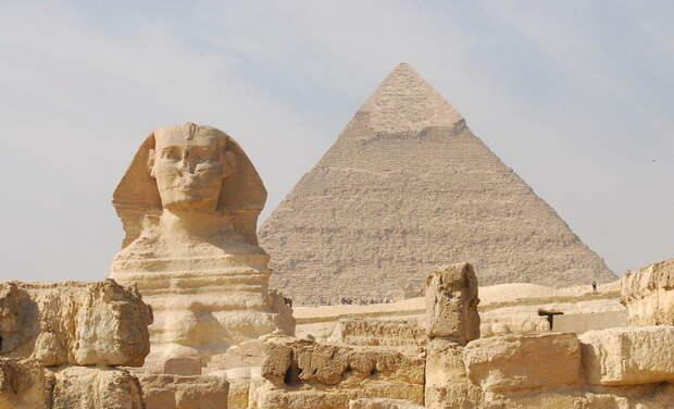 А так выглядит пирамида Хеопса