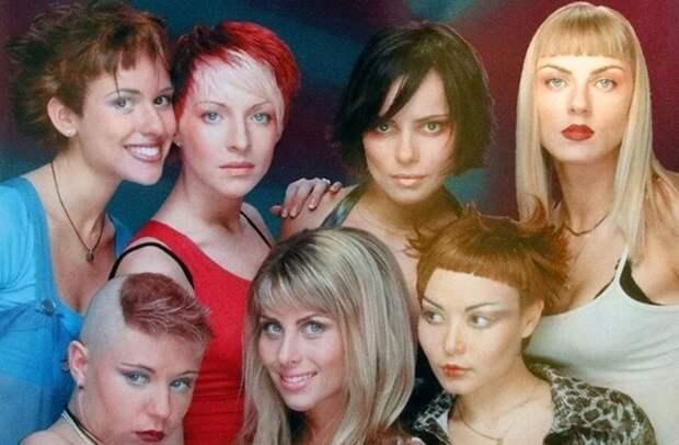"""Группа """"Стрелки"""" в 1997 году"""