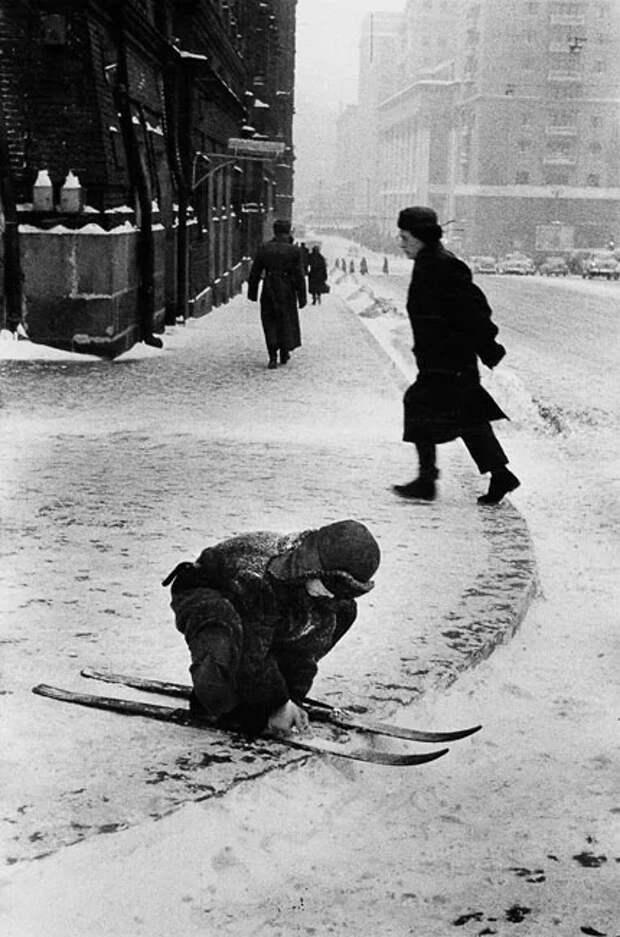 Какие раньше были зимы Зима, А как оно было раньше, СССР, Для тех кому за, Снег, Длиннопост, Сугроб