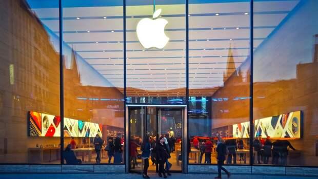 Объем выручки Apple в последнем квартале достиг 81,4 млрд долларов