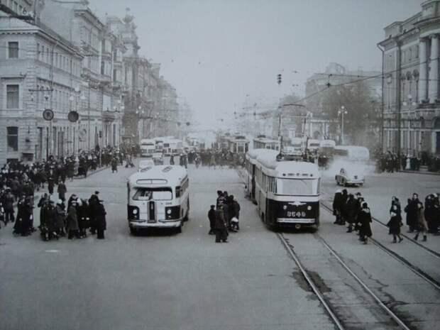 Ленинград в 1948 году