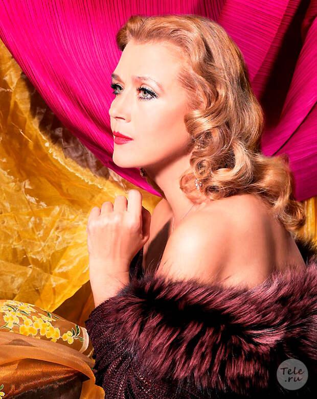 Неувядающая красота Ирины Алферовой.