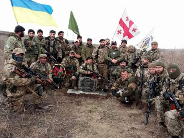 На Донбассе ликвидирован наемник «Сатана» из Грузии