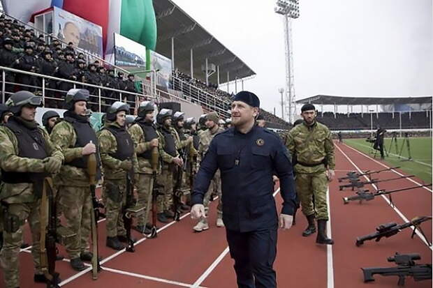 Кадыров передал привет самостийникам Украины и Белоруссии