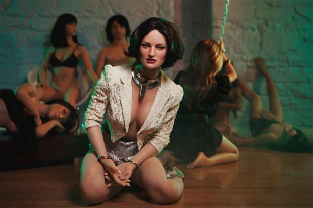 Секс-куклы в фотопроекте Стейси Ли «Средние американцы» 27