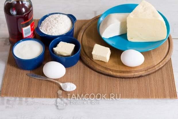 Ингредиенты для быстрых хачапури