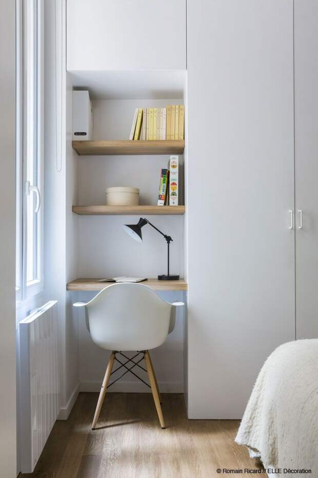 Удалёнка: рабочее место в маленькой квартире