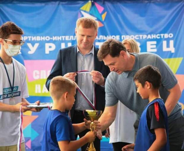 В районе Щукино открылся мини-стадион «Курчатовец»