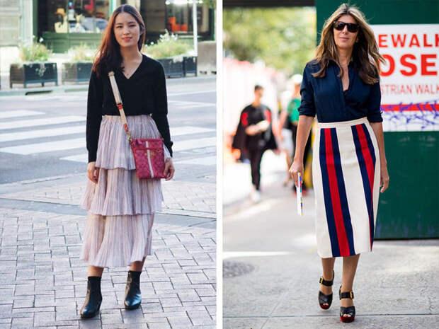 Как выбрать юбку по фигуре: 5 универсальных правил.