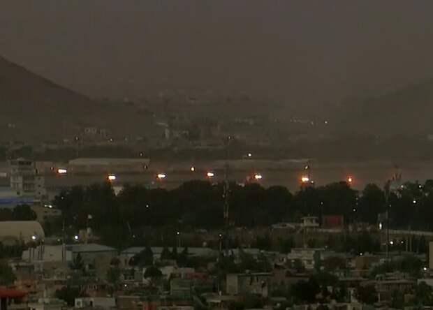 Аэропорт в Кабуле подвергся ракетной атаке