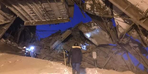 На фабрике «Норникеля» разрушены шесть блоков