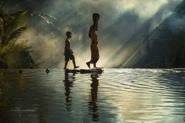 Кинематографические снимки сельской Индонезии, которые больше похожи на фильм