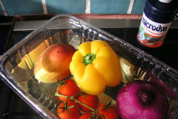 Как убрать пестициды из фруктов и овощей