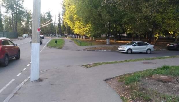 Пешеходный переход могут обустроить на одном из перекрестков в Климовске