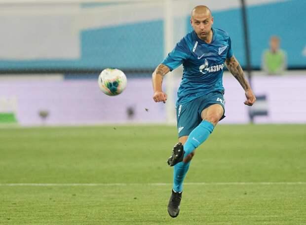Нынешний игрок «Зенита» попал в символическую сборную бывшего тренера «сине-бело-голубых»