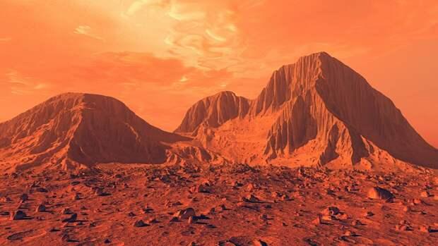 Солнечные затмения на Марсе ведут к деформации его поверхности