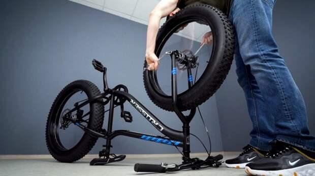 Как сделать велосипед без спиц
