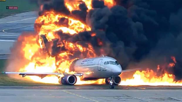 «Аэрофлот» считает учебный тренажер причиной катастрофы SSJ 100 в Шереметьево