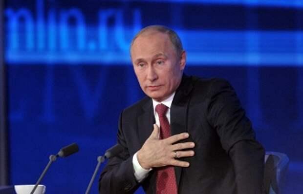 ТАСС: Пресс-конференция Путина пройдет на беспрецедентном экономическом и международном фоне