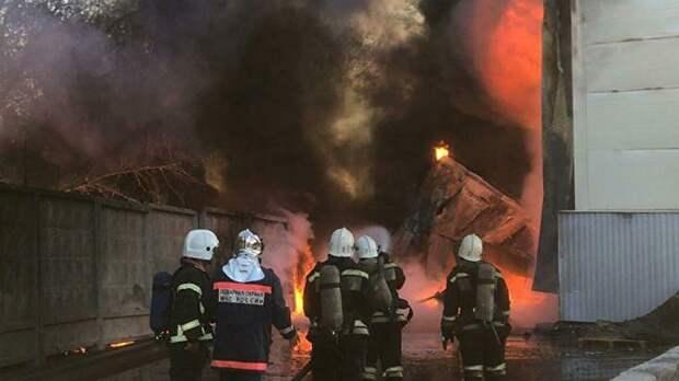 СК возбудил уголовное дело из-за пожара в Рязанской области