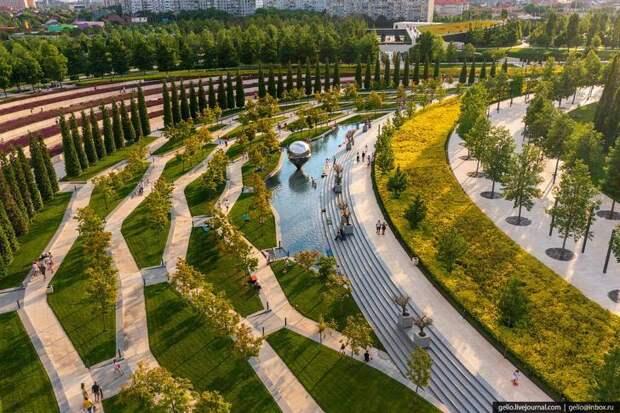 Парк Галицкого вКраснодаре– пожалуй, лучший парк России