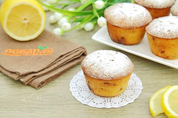 Творожные кексы с лимоном