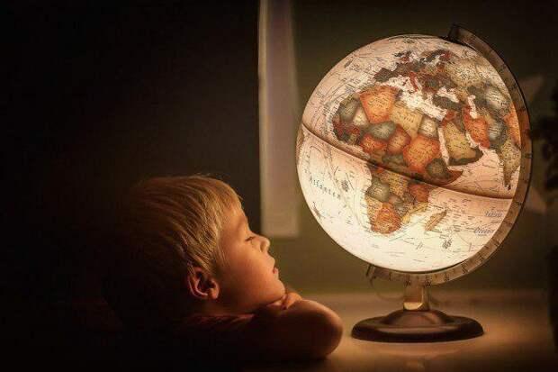 География. Дети. Фото: pixabay.com