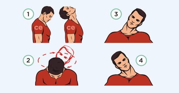 1 простое упражнение, которое снимет зажимы с шеи, плеч и спины