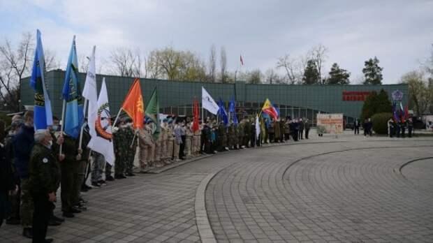 В Краснодаре дали старт ежегодной акции «Вахта Памяти»