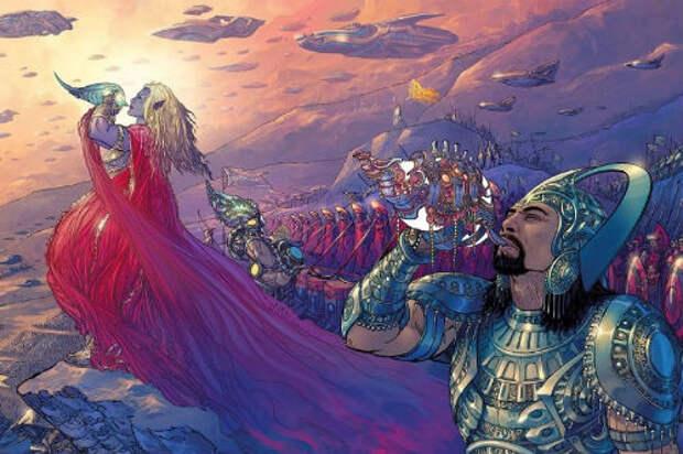Битва за Землю: космический подтекст Махабхараты