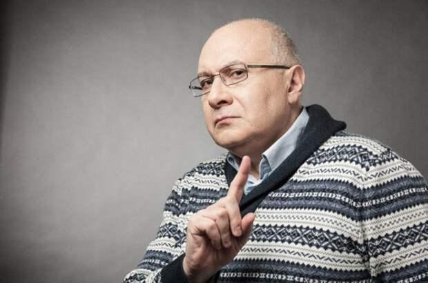 Ганапольский сравнил Украину с избитой женой, сбежавшей от мужа
