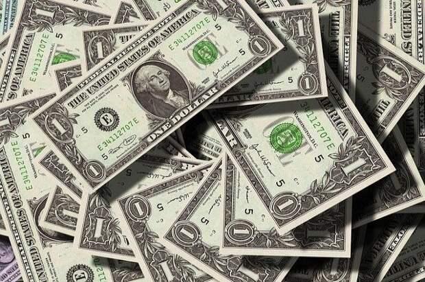 На Мосбирже курс доллара упал ниже 75 рублей