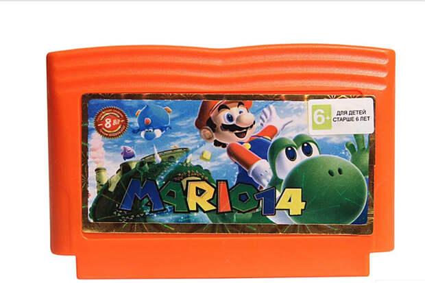 Картридж с игрой Super Mario продали за $1,56 млн
