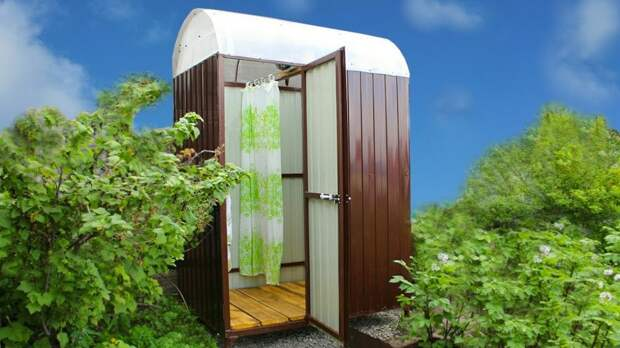 Летний душ на даче: крайне желательный элемент на любом участке своими руками