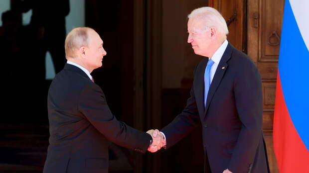 В Женеве начались  переговоры Путина и Байдена в расширенном составе