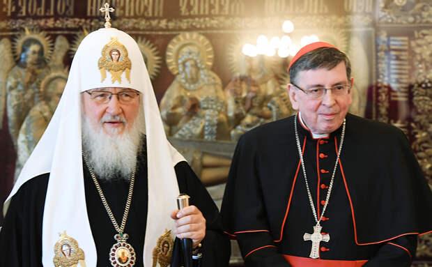 Патриарх Кирилл и кардинал Курт Кох