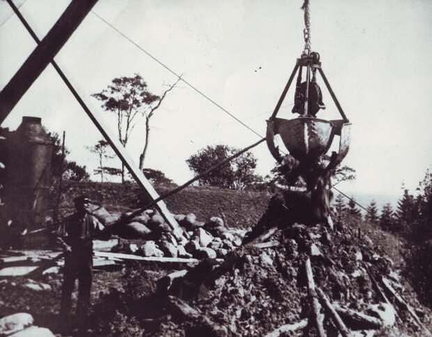 Так искали сокровища на Оуке в начале 20 века