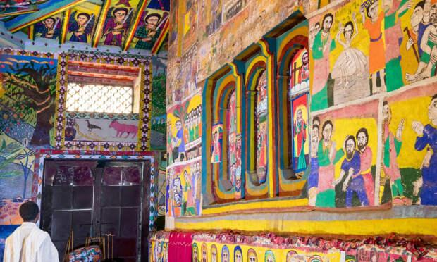 Древние церкви Эфиопии 11