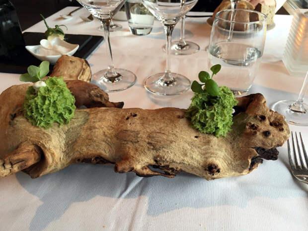 Соус на сухой древесине.