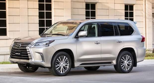 Lexus LX стал лидером в своем сегменте по сохранности остаточной стоимости