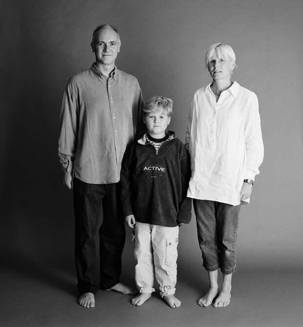 Фотограф 25 лет делал снимки одной семьи