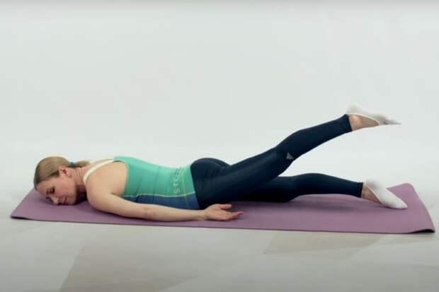 упражнения для тазобедренных суставов лежа