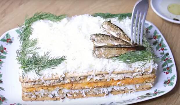 Шикарная закуска к новогоднему столу за 15 минут