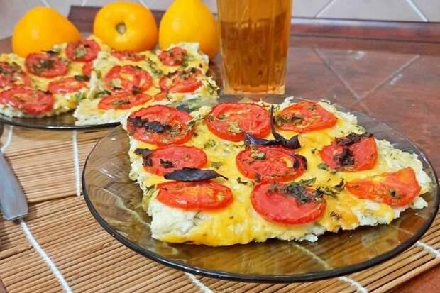 Кабачковая пицца в духовке. Теперь меньше калорий!
