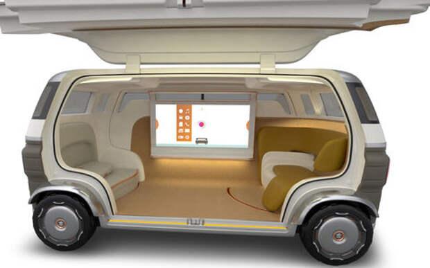 Новая концепция Suzuki: беспилотный «особняк» на колесах