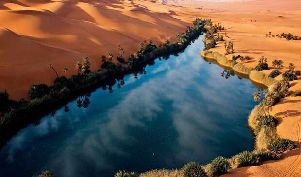 Как выглядела Сахара 5000 лет назад