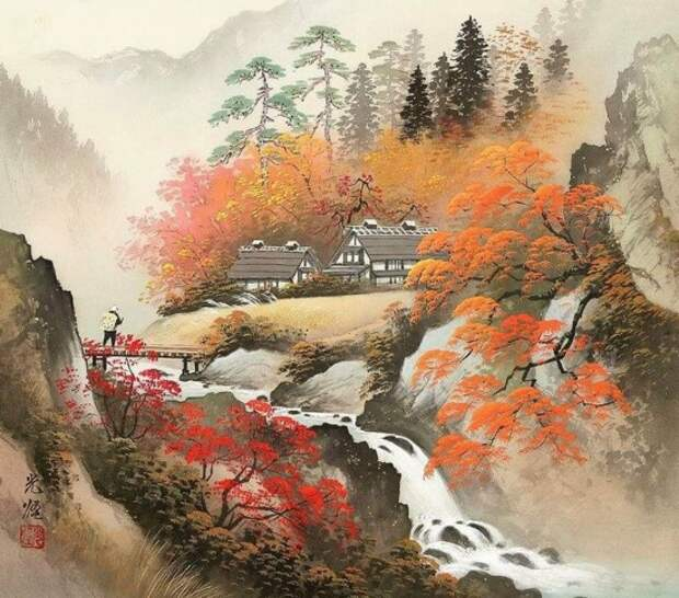художник Коукеи Кодзима (Koukei Kojima) картины – 15