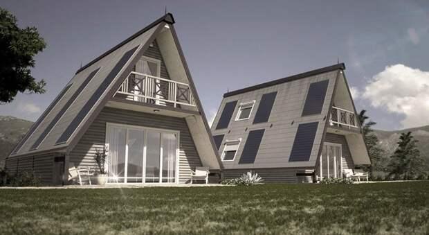 А так конструкция выглядит, когда она полностью завершена Ренато Видаль. дизайн, дом, недвижимость, строитель, стройка